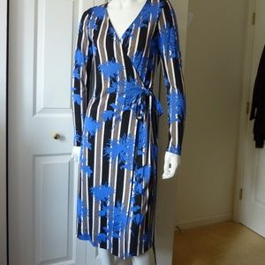 Diane von furstenberg Two Silk-Jersey Wrap Dress
